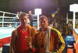 M.Jasiūnas iškovojo pasaulio Muay Thai čempionato sidabro medalį