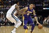 "K.Kuzma ir L.Ballas vedė ""Lakers"" į pergalę"
