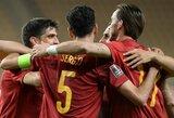 Pasaulio čempionato atrankoje – Ispanijos ir Anglijos rinktinių pergalės