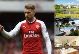 """Pamatykite: """"Arsenal"""" saugas A.Ramsey įsigijo prabanga alsuojantį namą Velse"""