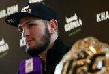 C.Nurmagomedovas sureagavo į C.McGregoro pareiškimą apie pasitraukimą iš MMA