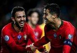 B.Silva atskleidė, kodėl C.Ronaldo – ypatingas žaidėjas