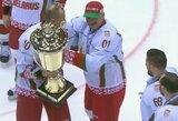 A.Lukašenka kėlė į viršų taurę, Baltijos rinktinė – 9-a