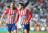 """""""Atletico"""" netektis: rungtynėse su """"Barcelona"""" teks verstis be A.Moratos, traumuoti dar keli futbolininkai"""
