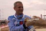B.Bardauskas neužtruko ant Dakaro podiumo ir perdavė linkėjimus šeimai