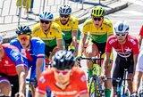 Geriausiai iš dviratininkų Europos žaidynių plento grupinėse lenktynėse sekėsi G.Bagdonui