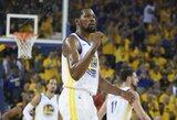 K.Durantas praleis NBA finalo pradžią