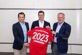 """Oficialu: R.Lewandowskis pratęsė sutartį su """"Bayern"""""""