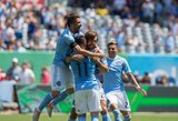A.Pirlo įmušė debiutinį įvartį MLS lygoje baudos smūgiu