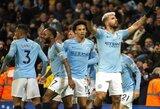 """Prieš """"Liverpool"""" įvartį pelnęs S.Aguero perrašė """"Premier"""" lygos istoriją"""
