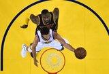 NBA savaitės žaidėjais tapo L.Jamesas ir S.Curry
