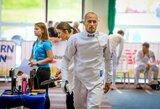 Fantastiškai fechtavimo rungtyje pasirodęs J.Kinderis – pasaulio taurės etapo finale