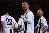 """A.Pirlo prabilo apie C.Ronaldo ateitį: """"Jis gali atsidurti bet kur"""""""