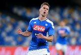 """""""Napoli"""" bandys atsikratyti net keturiais žaidėjais"""