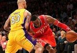 Juokingiausių NBA savaitės epizodų penketuke – nepavykę perdavimai bei pokštas D.Howardui