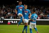 "Italijoje - eilinės ""Napoli"" ir ""Lazio"" pergalės"