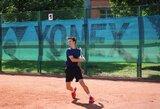 Lietuvos tenisininkas stipriausių Europos šešiolikmečių turnyre liko ketvirtas