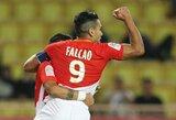 """R.Falcao vedamas """"Monaco"""" apgailėtinai suklupo prieš """"Ligue 1"""" vidutiniokus"""
