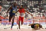 Drama Dohoje: finale kritęs ir diskvalifikaciją gavęs pasaulio čempionas atėmė medalį ir iš savo varžovo