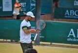 L.Grigelis Egipte užtikrintai žengė į pusfinalį ir žais dvejetų finale (papildyta)