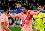 """""""Barcelona"""" išvykoje susitvarkė su """"Alaves"""" ir atsidūrė per pergalę nuo """"La Liga"""" titulo"""