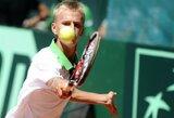 L.Mugevičius pergale pradėjo Europos jaunimo teniso čempionatą Šveicarijoje