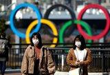 """Tokijo olimpinių žaidynių organizacinis komitetas: """"Niekada nesvarstėme žaidynių atšaukimo galimybės"""""""
