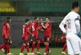 Lietuvos rinktinė pasaulio čempionato atrankoje patyrė triuškinamą pralaimėjimą prieš šveicarus