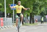 """Solo pergalę Jonavoje pasiekęs D.Džervus tapo """"Jonava Cycling Tour"""" lenktynių nugalėtoju"""