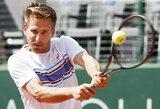 """""""Roland Garros"""" turnyro mačo dėl traumos nebaigęs vokietis gavo didelę baudą"""