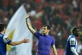 """I.Casillasas fantastišku žaidimu padėjo """"Porto"""" įveikti """"Benfica"""""""