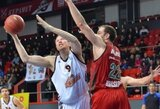 Naudingai žaidęs D.Songaila atvedė ekipą į svarbią pergalę Krasnodare