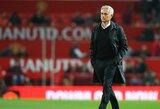 J.Mourinho pripažino, jog mėgaujasi jaučiamu spaudimu taurėse