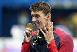 Leonido iš Rodo rekordas krito – M.Phelpsui neprilygsta niekas istorijoje