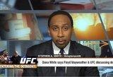Neįtikėtina: F.Mayweatheris veda rimtas derybas su UFC dėl kovos narve
