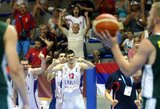 Serbijos dvidešimtmečiai nepaliko vilčių turkams ir pateko į finalą