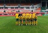 Lietuvos U22 futbolo rinktinė sužaidė lygiosiomis su Šiaurės Korėja