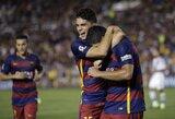 """""""Barcelona"""" įveikė MLS čempionus, M.Depay pelnė pirmą įvartį """"Man Utd"""" gretose"""