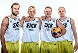 """Į pasaulio 3x3 turą Dohoje vyksiantys uteniškiai sau kelia aukščiausius tikslus: """"Olimpinė ugnis šildo visus"""""""