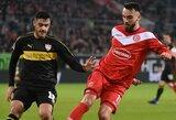 """Fortuna"" namuose susitvarkė su ""Stuttgart"" futbolininkais"