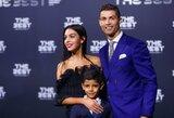 """Tėčio pėdomis? """"Sporting"""" klubas susidomėjo galimybe įsigyti C.Ronaldo sūnų"""