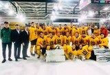 Jaunimo ledo ritulio rinktinė pradės pasiruošimą Vilniuje vyksiančiam pasaulio čempionatui