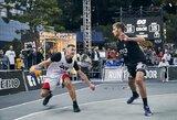"""Finalinio pasaulio 3x3 krepšinio turo etapas """"Gulbelei"""" baigėsi ketvirtfinalyje"""