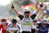 """Tour de France"" lenktynių starte – M.Cavendisho pergalė ir A.Contadoro avarija"