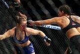 """R.Rousey nokautavusi ir pagarbos nerodžiusi A.Nunes susigėdo: """"Atsiprašau Rondos, jos ir savo sirgalių bei UFC"""""""