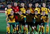"""A.Tapinas: """"Mes esame futbolo ubagų nacija"""""""