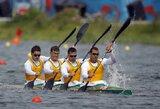 Olimpinėse baidarių ir kanojų irklavimo varžybose paaiškėjo dar 4 medalių komplektų savininkai