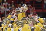 Šveicarai nesugadino šeimininkų šventės: švedai – naujieji pasaulio ledo ritulio čempionai!