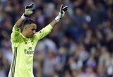 """Italijos spauda: vietos """"Real"""" gretose nerandantis K.Navasas nori keltis į kitą klubą"""