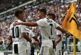 """M.Allegri nekreipia dėmesio į C.Ronaldo mestu kaltinimus dėl prievartavimo: """"Nėra reikalo neleisti jam rungtyniauti"""""""
